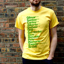 Best Brazil Football Players T Shirt