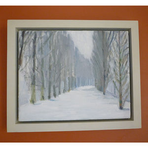 'Winter Trees' Oil Painting - paintings & canvases