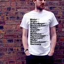 Best German Football Players T Shirt