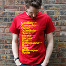 Best Spain Football Players T Shirt