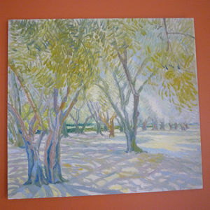'Summer Trees' Oil Painting - nature & landscape