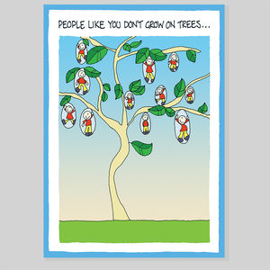 On Trees Greeting Card - shop by category