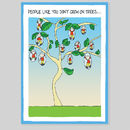 On Trees Greeting Card
