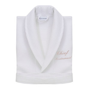Personalised Mother Of The Bride Dressing Gown From - bathrobes