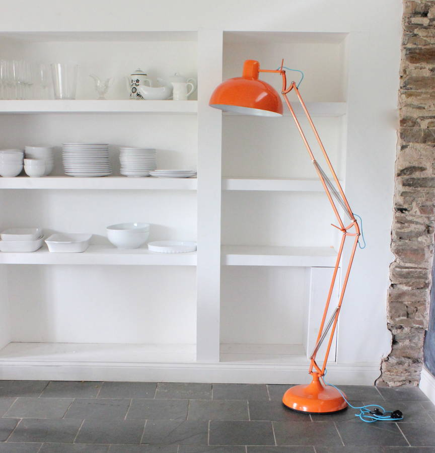 Clementine angled floor lamp by the forest co notonthehighstreet clementine angled floor lamp aloadofball Images