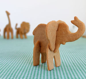 Bake Your Own 3D Safari Animal - baking