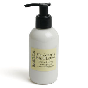 Gardener's Hand Lotion - hand care