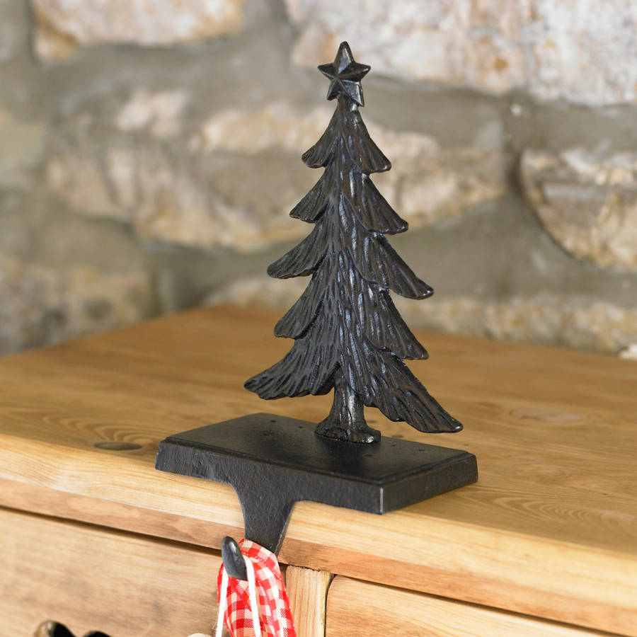 Lovely Christmas Tree Stocking Holder By Dibor Notonthehighstreet.com