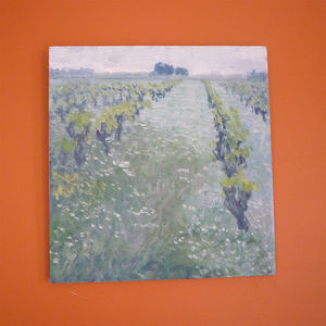 'Vines' Oil Painting - home accessories