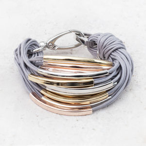 Katrina Mixed Metal Thread Bracelet
