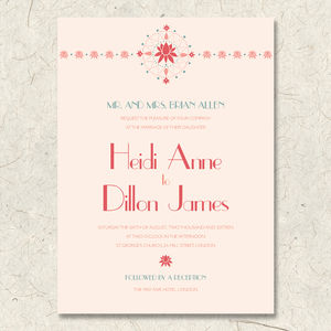 Coral Beco Invitation