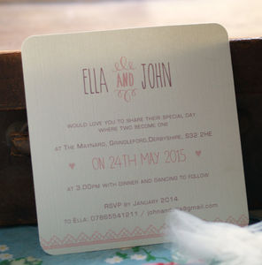 'We Finally Did It' Wedding Invitations