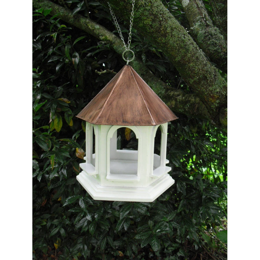 Handmade Wooden Rozel Bird Table Feeder By Garden
