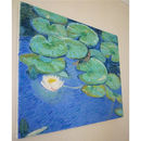 'Water Lily Pads' Oil Painting