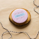 Personalised Stripe Hen Party Badge