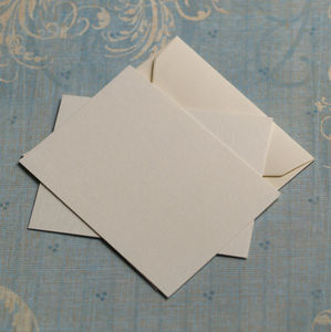 Packs Of A7 Cards And Envelopes - notelets & writing paper