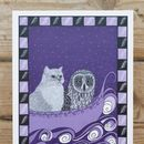 Owl And Pussycat Card