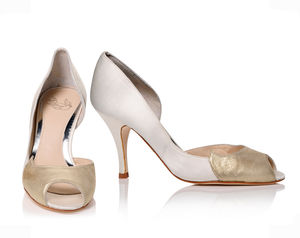 Sabreen Cream - bridal shoes