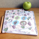 Apple Leaf Spiral Bound A5 Notebook