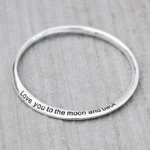 'Love You To The Moon And Back' Bracelet - gifts for her