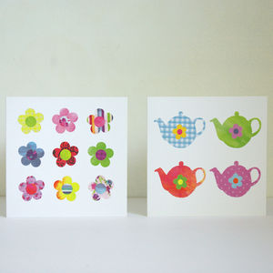 Set Of Eight Cards