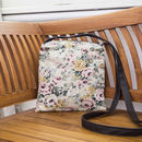 Rose Fabric Cross Body Bag