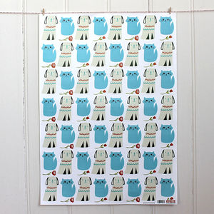 Kittens And Puppies Wrapping Paper