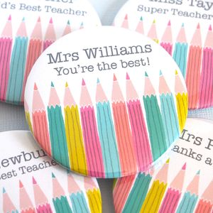 Personalised 'World's Best Teacher' Magnet - gifts for teachers