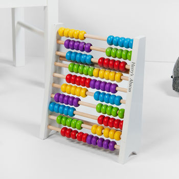 Personalised Wooden Abacus