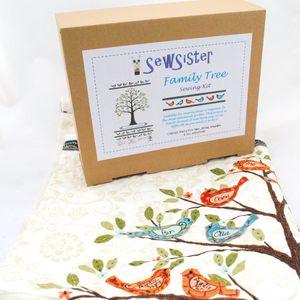 Family Tree Sewing Kit