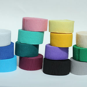 Colourful Crepe Paper Streamer - room decorations