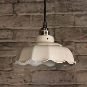 Avalon Plain Ceramic Pendant Light