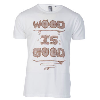 Wood is good white