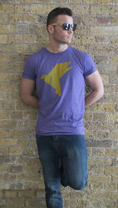 Origami Bird T Shirt - women's sale