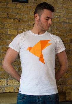 Origami Bird T Shirt