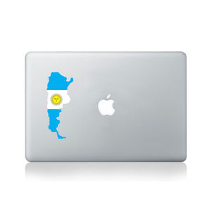 Argentina Country Flag Sticker - office & study