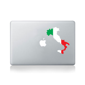 Italy Country Flag Sticker