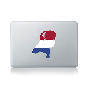 Netherlands Country Flag Sticker