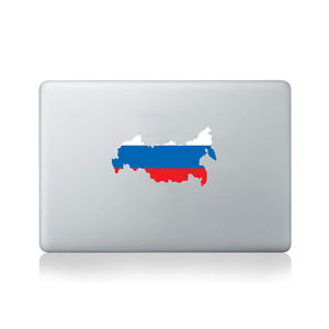 Russia Country Flag Sticker