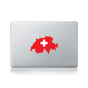 Switzerland Country Flag Sticker - office & study