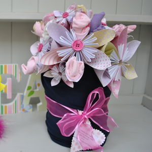 New Baby Sling And Accessories Paper Flower Bouquet - baby shower gifts