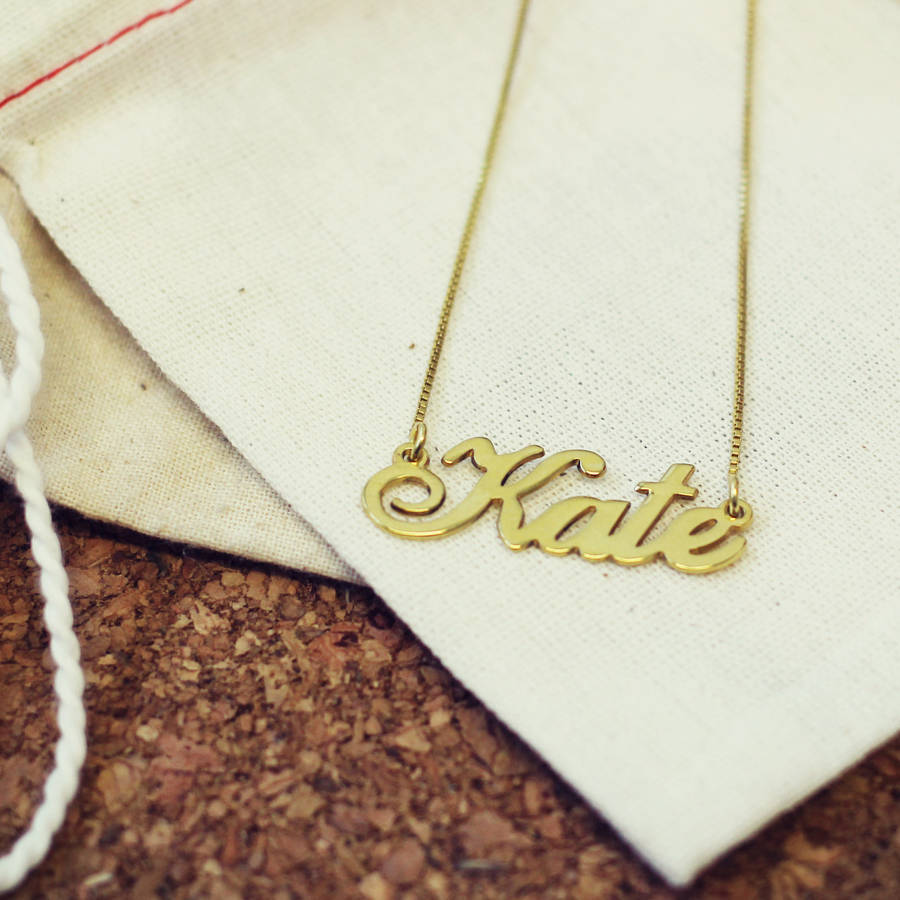 chains custommade necklace in name com gold baby personalized gallery hand stamped jewelry