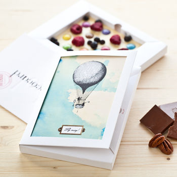 Personalised Everyday Occasions White Chococard