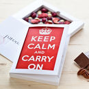 Personalised Everyday Occasions Dark Chococard