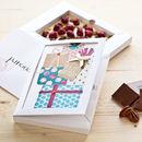 Personalised Birthday White Chococard