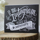 Wedding Instagram Hashtag Print