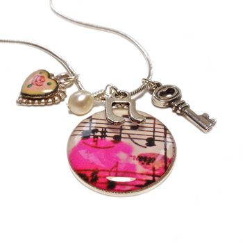Musical Charm Necklace