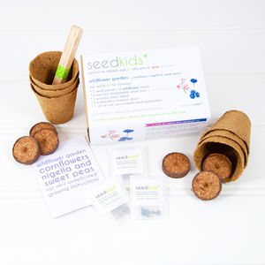 Seedkids* Grow Your Own Wildflower Garden Kit