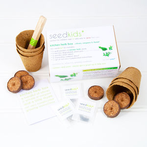 Seedkids* Grow Your Own Kitchen Herb Box