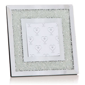 Photo Frame Filled With Swarovski Crystals